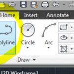 Mengenal Line dan Polyline pada AutoCAD 2010