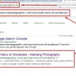 Cara Submit Artikel ke Google Webmaster Tools