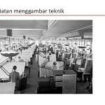Kegiatan Menggambar Teknik Dalam Pabrik