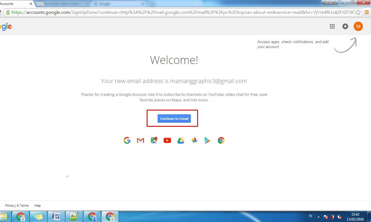 Cara Daftar Akun Gmail Terbaru 2016 6