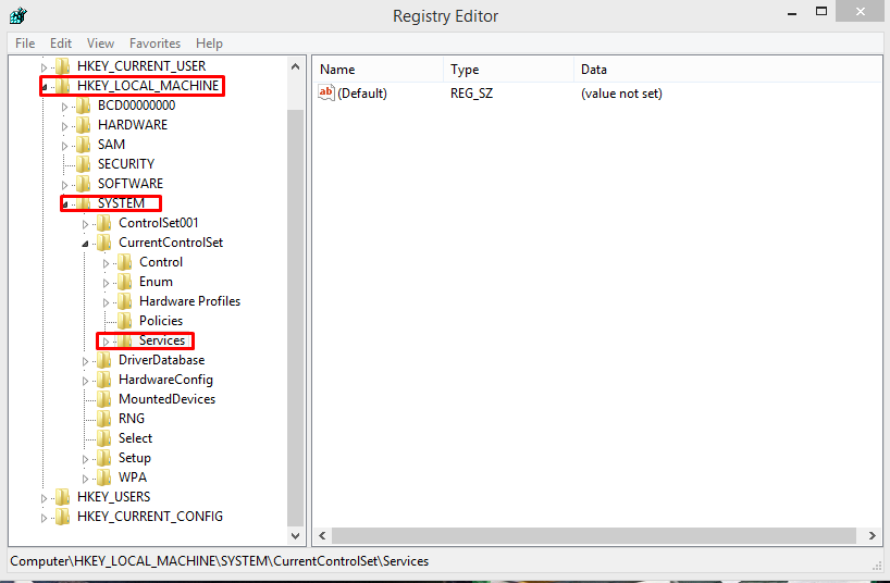 Cara Merubah Start Type Dalam Registry