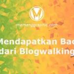 Backlink dari Blogwalking