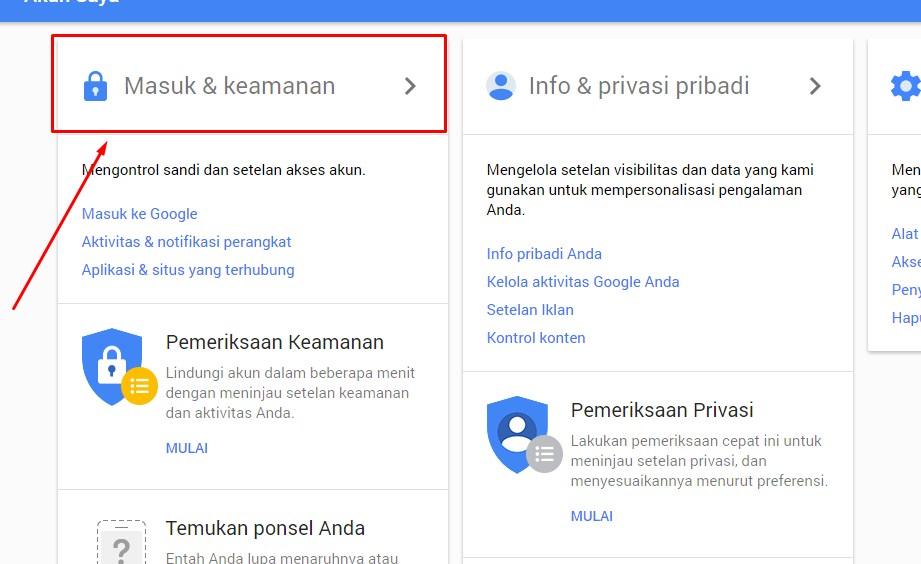 Mengaktifkan Verifikasi Akun Gmail