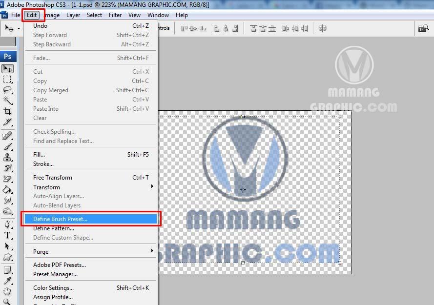 Cara Memberikan Logo Watermark dengan Photoshop 2