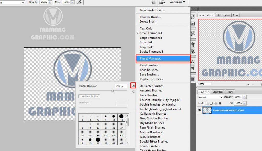 Cara Memberikan Logo Watermark dengan Photoshop 5