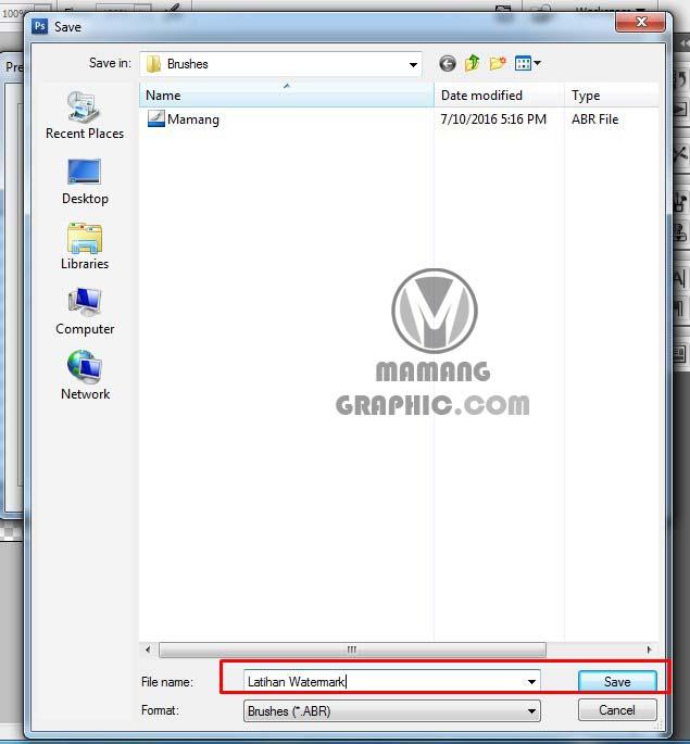 Cara Memberikan Logo Watermark dengan Photoshop 7