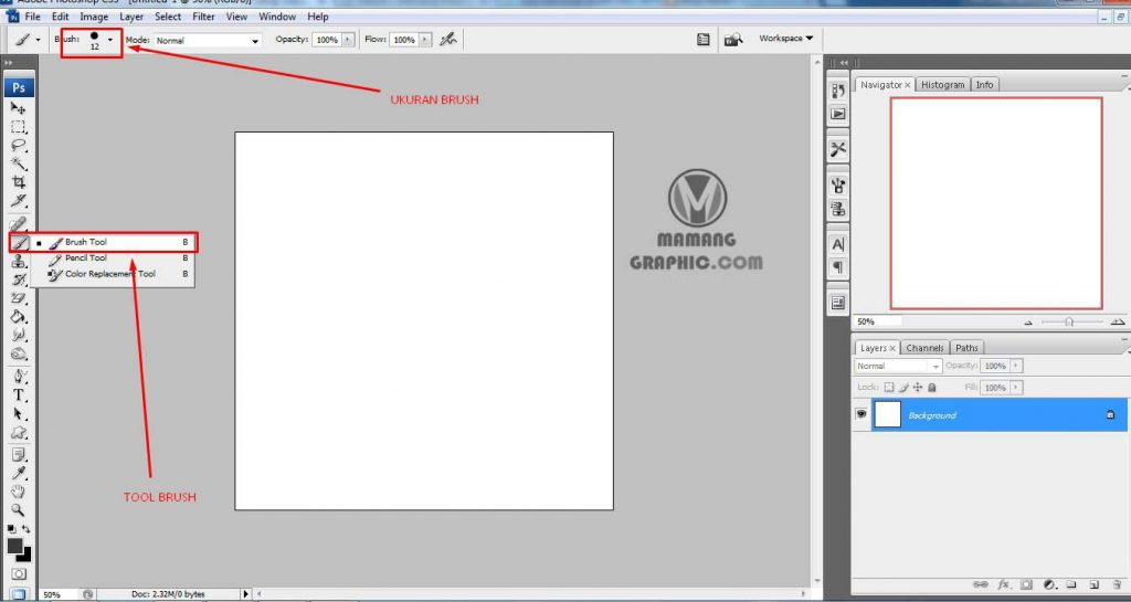Cara Membuat Lingkaran Spiral di Photoshop 1