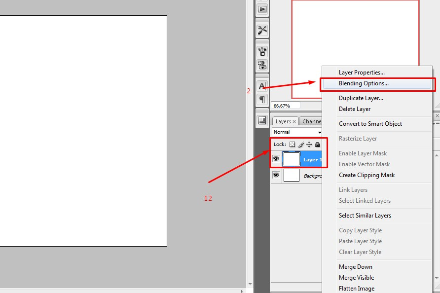 cara menambahkan pattern di photoshop