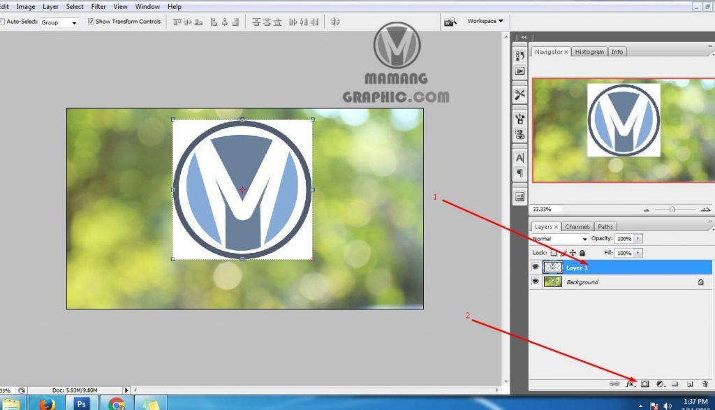 Cara Menggunakan Fitur Masking di Photoshop 1