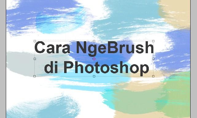 Cara Pemasangan Brush dan Penggunaan Brush pada Photoshop 5