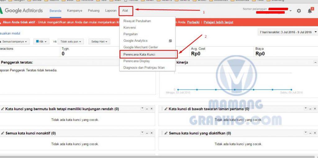 Cara Riset Keyword dengan Google Keyword Planner 3