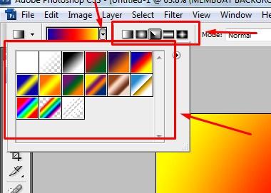 Membuat Background Gradien dengan Photoshop 3