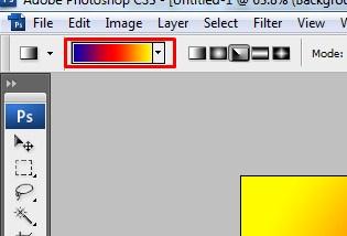 Membuat Background Gradien dengan Photoshop 4