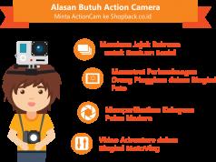 Alasan Butuh Action Camera