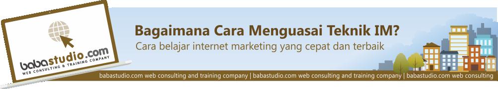 Teknik Internet Marketing