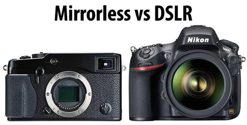 Perbedaan DSLR dan Mirrorless, Mana Yang Lebih Bagus