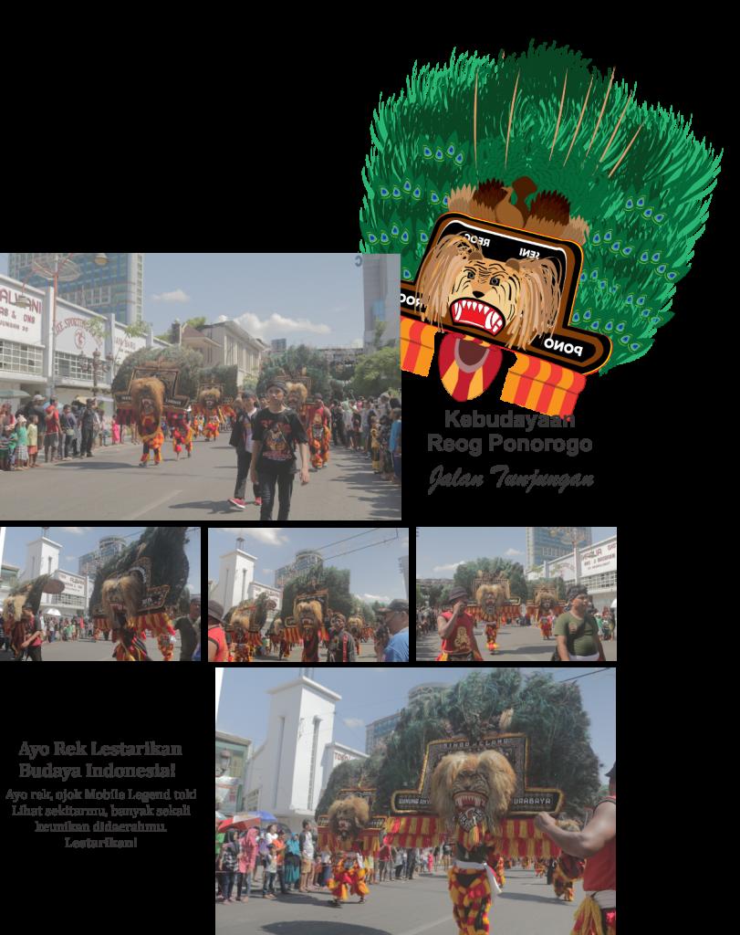 Reog Ponorogo di Surabaya Vaganza