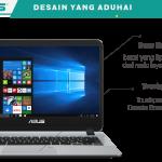 Asus Vivobook A407 Tampil Stylish, Pilihan Kaum Millennial dengan Fingerprint dan Performa Gahar