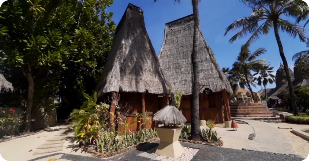 2. Tiba Di Hotel Novotel Lombok