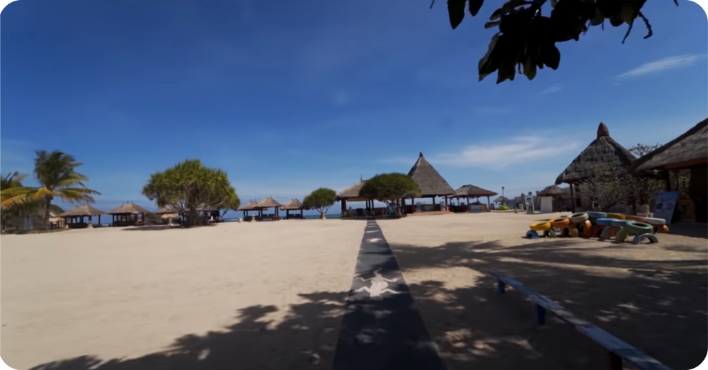 3. Keindahan Novotol Lombok