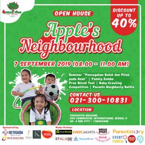 Open House Apple Tree Pre School BSD